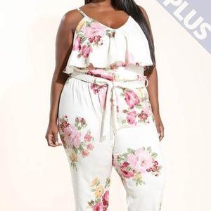 Pants - Floral 2 Piece